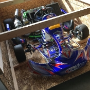 eShifter Kart Custom Kart Shipping Crate - Safe & Secure