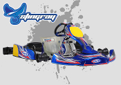 CKR Stingray 206/100cc Designed Kart Chassis