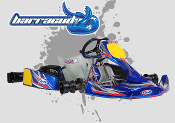 CKR Barracuda KZ Shifter Kart Chassis, 32mm