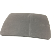 "Seat Padding 3/8"" Thick - Fabric Back with Adhesive Velcro Strip"