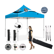Master Canopies 10' x 10' Pop Up Hexagonal Tube Canopy